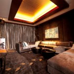 Chairman Suite - Entertainment Room - Marina Bay Sands Hotel Singapore
