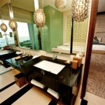Chairman Suite Main Bathroom - Marina Bay Sands Hotel Singapore