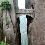 Il ponte degli Immortali - Huangshan, Cina