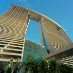 Marina Bay Sands Hotel Singapore - Towers Rear View