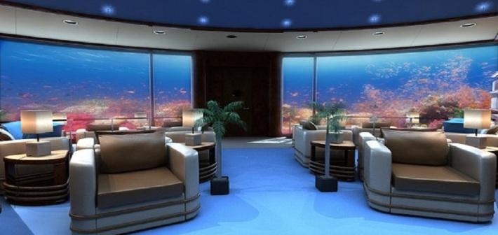 Poseidon Undersea Resort, l'hotel subacqueo