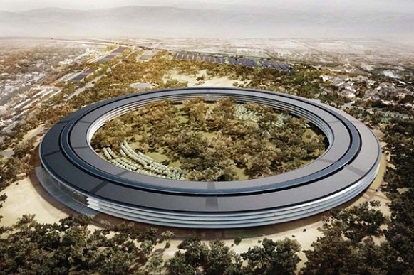 Apple New Office Building