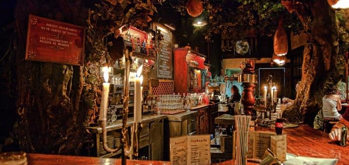 Il Cafè incantato : El bosc de les fades, Barcellona