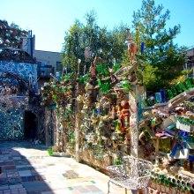 Il giardino riciclato: ecco il Magic Garden di Philadelphia