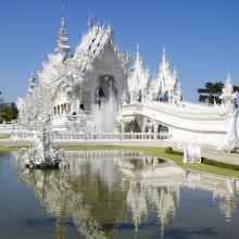 Wat Rong Khun, il suggestivo tempio bianco della Tailandia