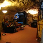 Cave reading room
