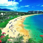 Hawaii, maui beach