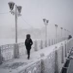 Oymkyakon, Russia 6°