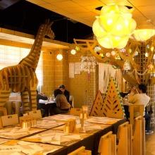 Il Carton Restaurant, lo stravagante ristorante di cartone