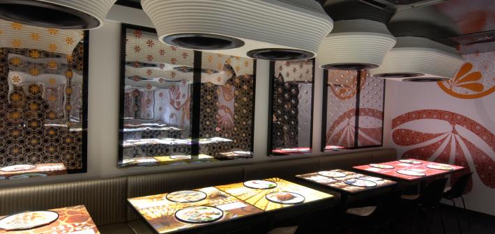 Inamo, ordinare al ristorante con un semplice touch!