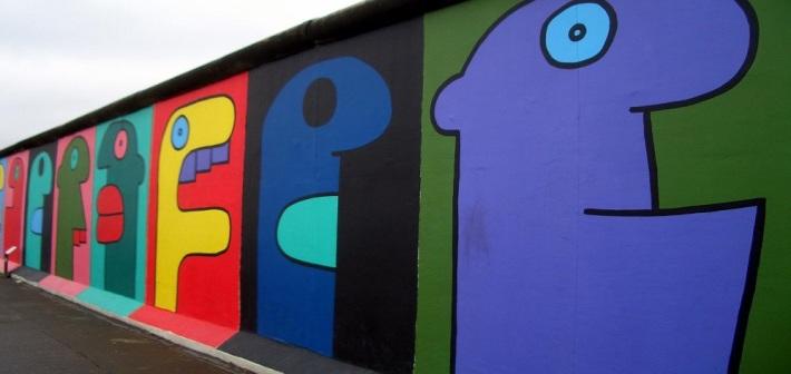 East Side Gallery, quel che resta del muro di Berlino è una galleria d'arte