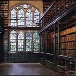 Bodleian library di Oxford - Biblioteca di Hogwarts