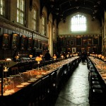 Christ Church college Hall di Oxford - Sala grande di Hogwarts