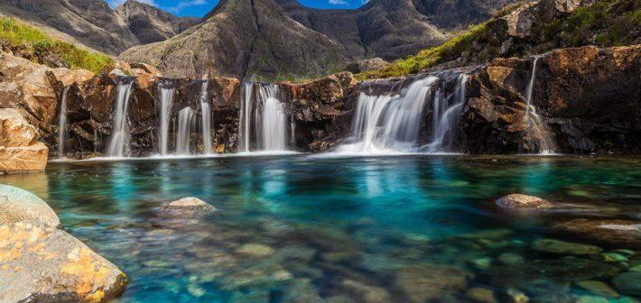 Le suggestive Piscine delle Fate, Scozia