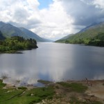 Loch Shiel from top of monument