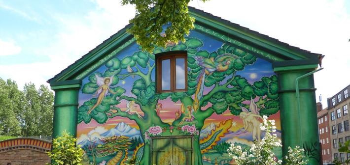 La Città Libera di Christiania: gli Hippie si autogovernano nel cuore di Copenhagen