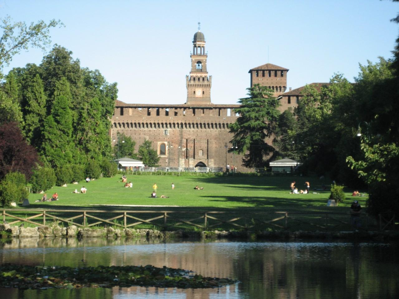 Parco sempione milano immagini - Parco di porta venezia ...