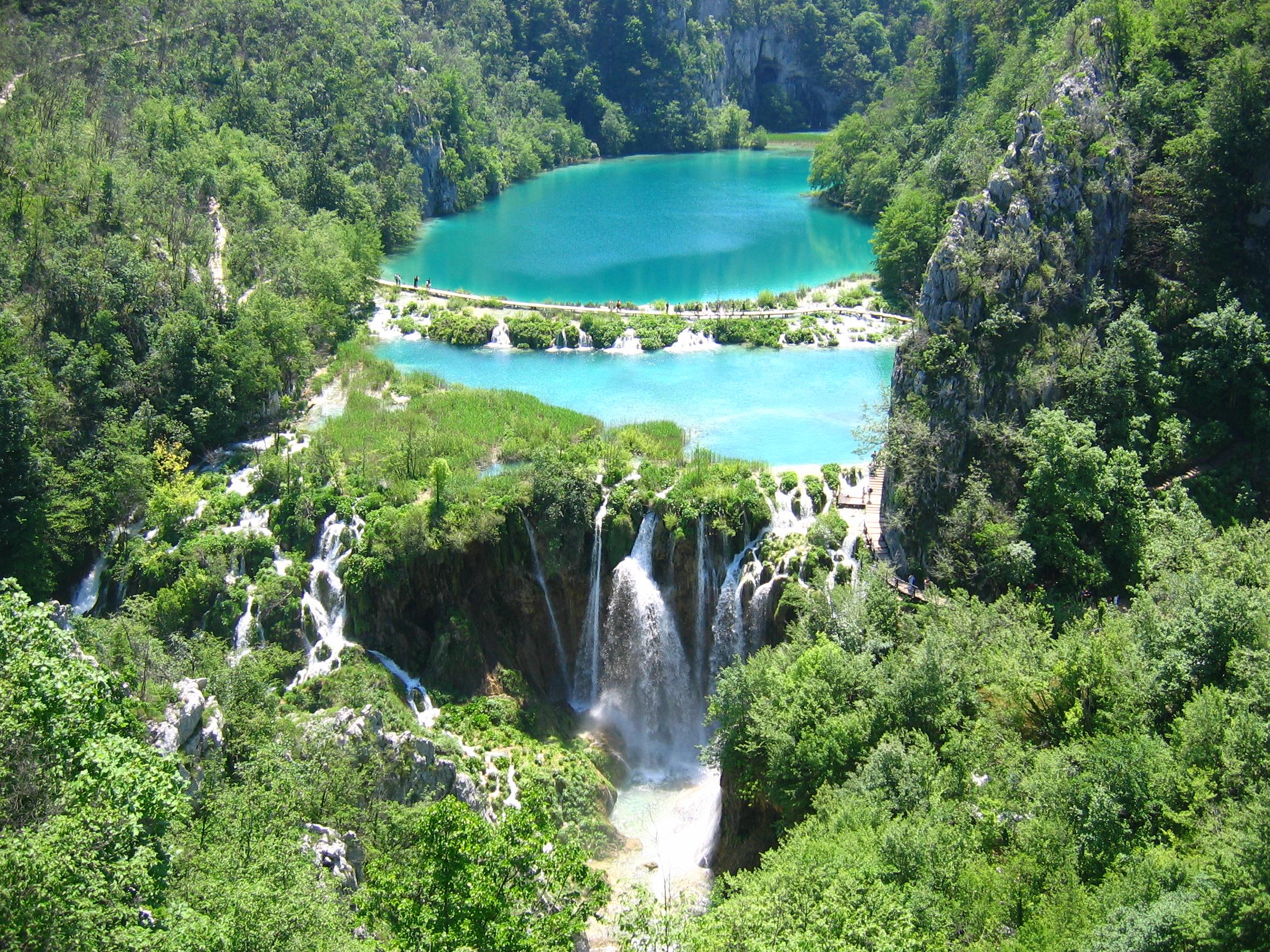 Croatia Plitvice Lakes National Park