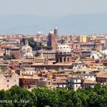 Vista dal Gianicolo