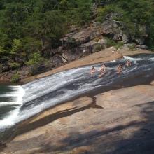 Sliding Rock, lo Scivolo naturale del North Carolina