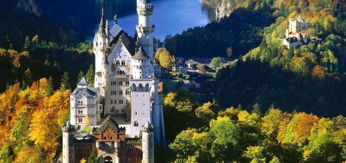 Il Castello di Neuschwanstein, quello delle favole Disney