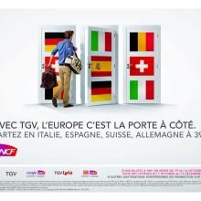 SNCF: l'Europa attraverso una porta.
