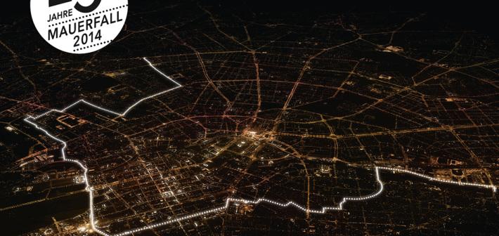 8 mila palloncini per non dimenticare la caduta del Muro di Berlino
