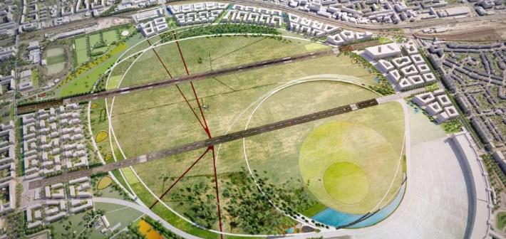Tempelhof Park, il parco più grande d'Europa nato in un vecchio aereoporto