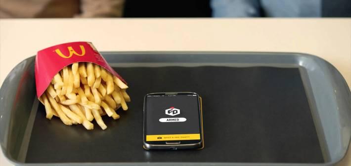 Fry Defender, l'app di McDonald's che protegge le tue patatine