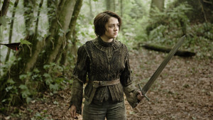 Arya attraverso i Dark Hedges